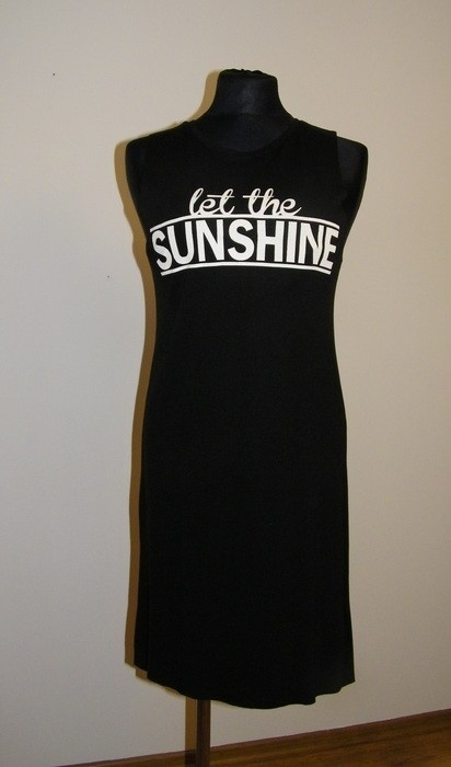Letnia długa sukienka z Reserved...