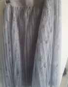 koronkowa tiulowa spódnica...