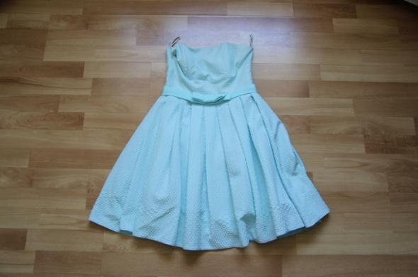 08b4f6cb98 Niebieska sukienka Parisse 36 w Suknie i sukienki - Szafa.pl