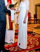 piękna suknia okazja rozm 34 36 pilne...