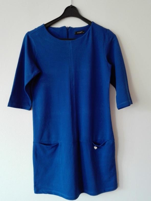 Granatowa sukienka HIT WIOSNY