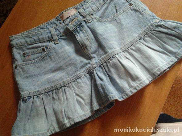Spódnice spodniczka krutka jeansowa