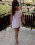 Różowa Sukienka