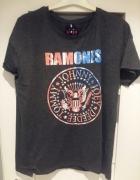 Sinsay ramones koszulka rockowa styl zara