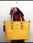 Torebka żółta FLORA&CO...