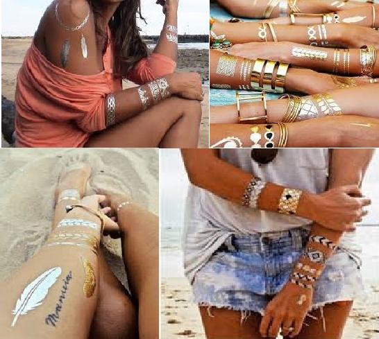 tatuaże na ciało biżuteria na ciało