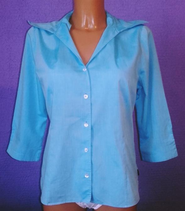 koszula niebieska...