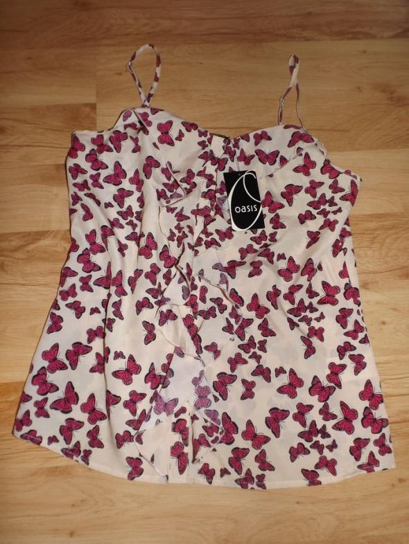 Nowa bluzeczka w motyle Oasis SM...