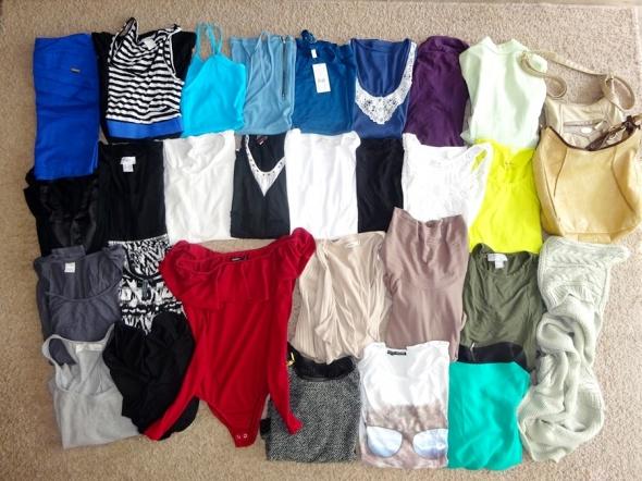 zestaw ubrań markowych MEGA PAKA firmowych r 36 S...