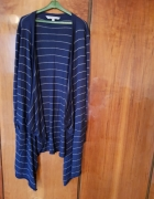 Luźny sweter w paski
