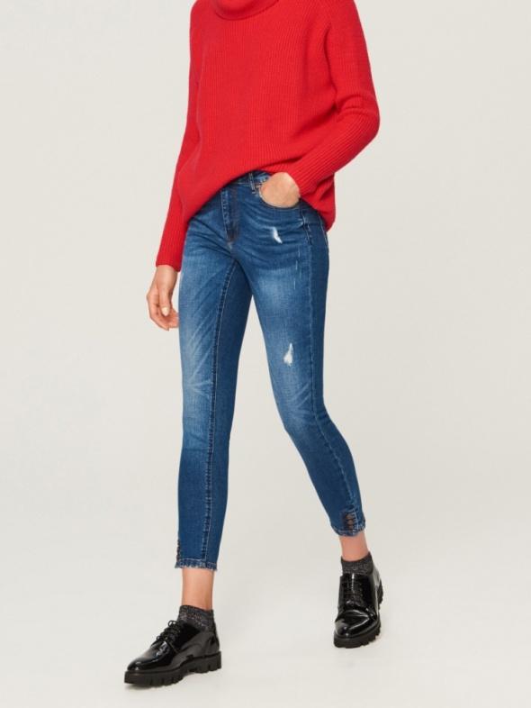 Spodnie Jeansy Slim Fit