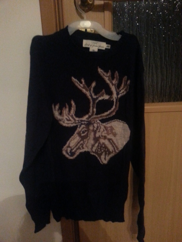 Zimowy sweter...