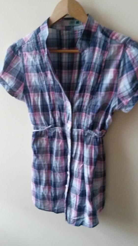 koszula long tunika taliowana...