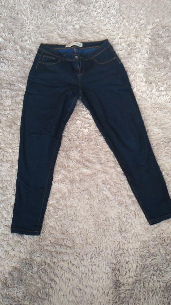 Elastyczne nowe spodnie denim co...