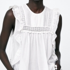 Zara koronka L XL