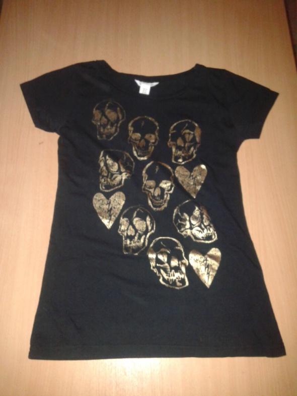 Czarna H&M czaszki