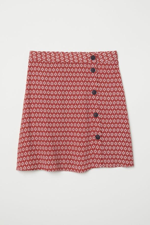 Spódnice Spódnica H&M krepowana