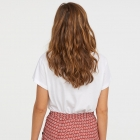 Spódnica H&M krepowana