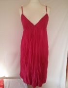 Sukienka midi amarant UK10 38 40...