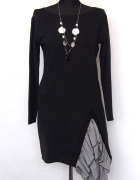 Elegancka czarna sukienka Two Moon rozm M nowa...
