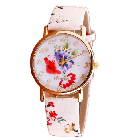 Zegarki z kwiatowym motywem