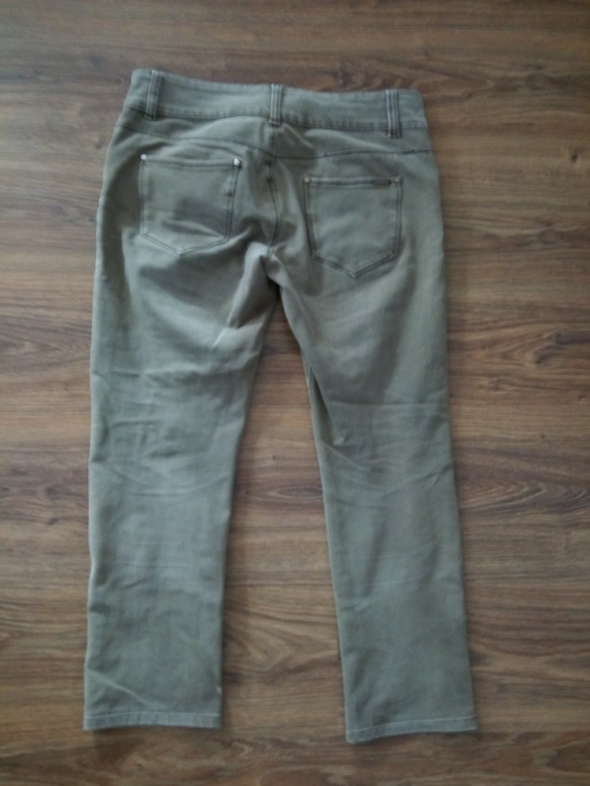 Brązowe spodnie 32
