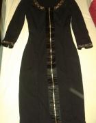 Czarna sukienka midi lasagrada 36...