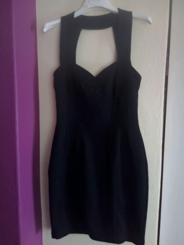sukienka mini czarna I