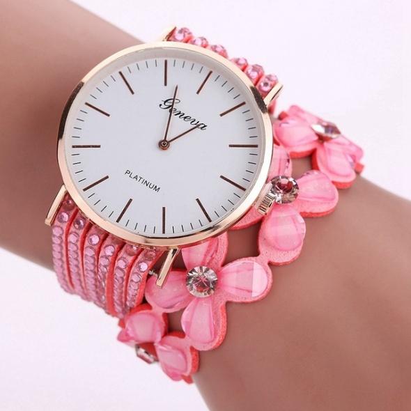 Elegancki zegarek kwarcowy Rózne kolory