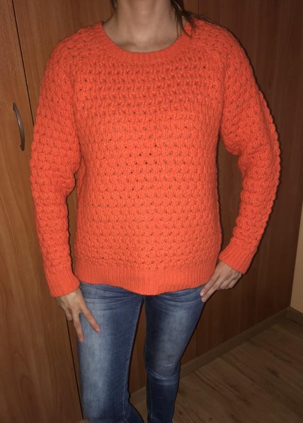 pomarańczowy sweter reserved M 38