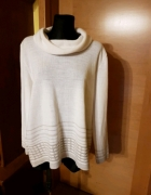 Sweterek cienki C&A Canda kość słoniowa 42 46...