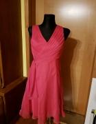 Fuksjowa sukienka bal wesele chrzciny 36...