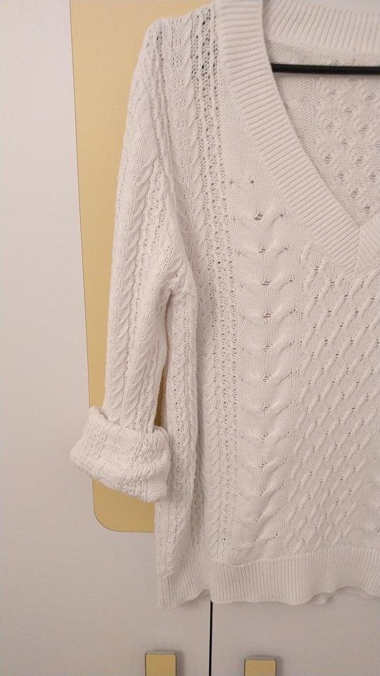 Biały sweter 36 38