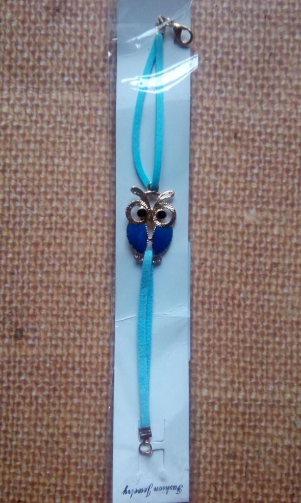 niebieska sowa
