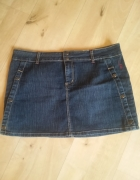 Mini jeans spódnica...