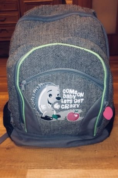 Duży pojemny plecak dla dziewczynki