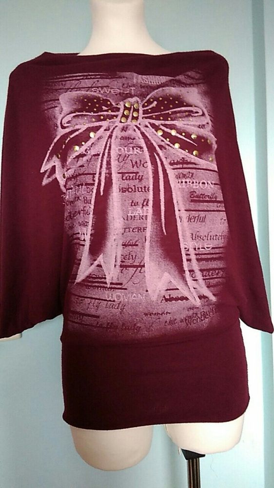 bluzka z oryginalnymi rękawami