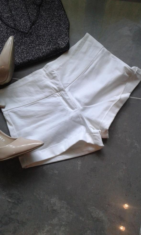 Spodenki białe krótkie spodenki XS lato