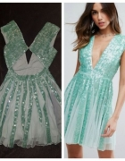 Piękna nowa cekinowa suknia...