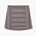 Żakardowa spódnica w wzory z bawełny Mango S