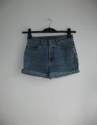 Spodenki jeansowe diy marc o polo...