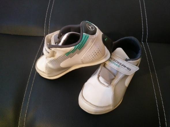 buty PUMA adidasy 28 białe...