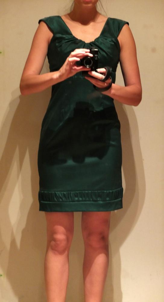 Zielona sukienka 42