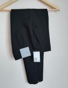 Eleganckie spodnie w kant H&M xxs 32 NOWE