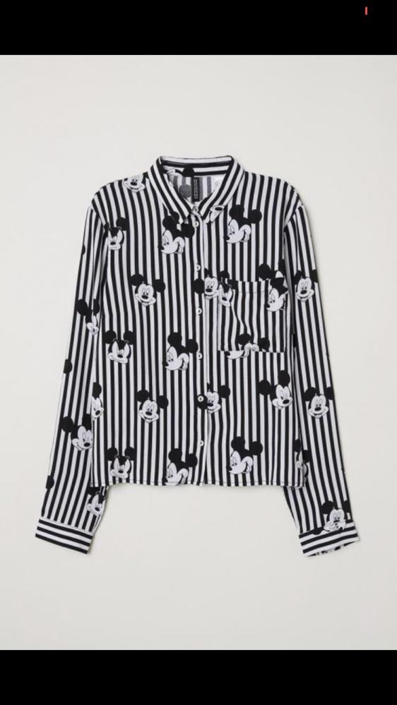 Nowa koszula w paski myszka mickey