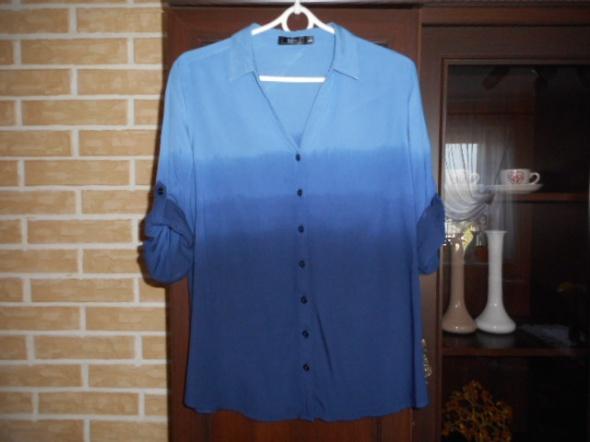 BONPRIX super bluzka koszulowa ombre 42 xl stan bdb