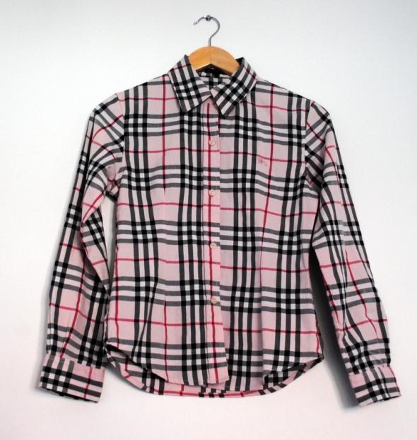 Burberry oryginalna koszula w kratę taliowana M...