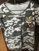 Koszulka moro naszywki 38 M