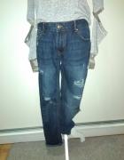 Nowe spodnie dziury