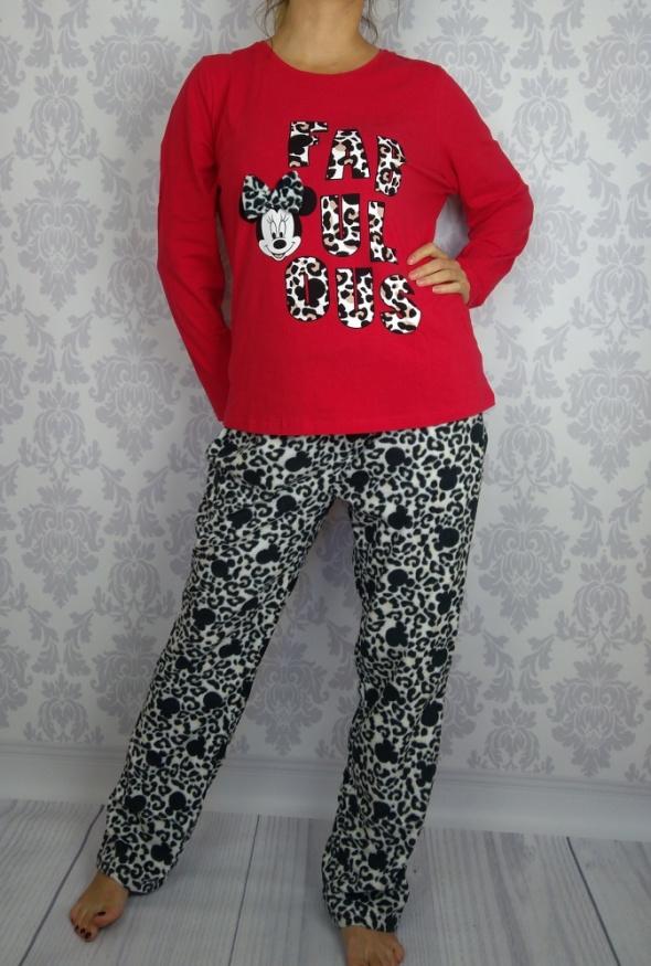 Nowa bawełniana polarowa piżama Myszka Minie Disnay George